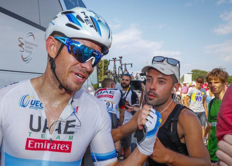 GIKK FOR TIDLIG: Alexander Kristoff stivnet i spurten på etappe syv av Tour de France. Foto: Heiko Junge / NTB scanpix
