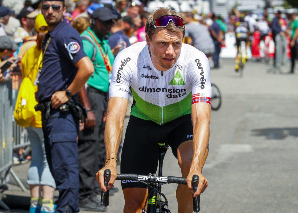 BROSTEINSKAPTEIN: Edvald Boasson Hagen får sjansen til å kjøre for egne sjanser på søndagens etappe til Roubaix. Foto: Heiko Junge / NTB scanpix