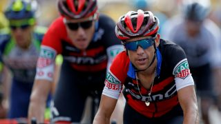 MÅTTE BRYTE: Richie Porte brøt tidlig på den niende etappen av Tour de France. FOTO: REUTERS/Stephane Mahe