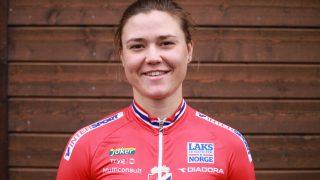 PUNKTERTE: Line Marie Gulliksen. FOTO: Norges Cykleforbund.