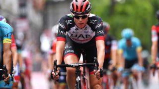 SKAL LÆRE AV EGNE FEIL: Inn mot La Vuelta føler Vegard Stake Laengen seg tryggere på egen form enn han gjorde i våres. UAE-proffen har tatt grep for å unngå ny høydesmell. FOTO: Tim De Waele/Getty Images