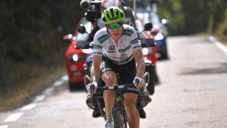 KING OF SPAIN: Ben King tok en ny etappeseier på den niende etappen av Vuelta a España. FOTO: Tim de Waele/Getty Images