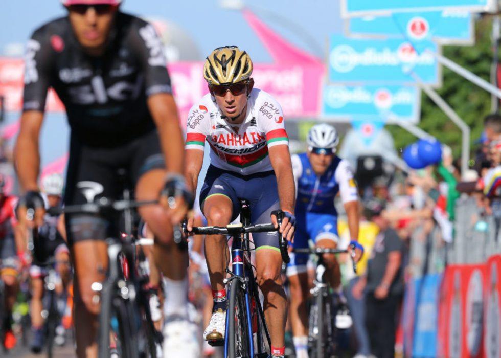 SUSPENDERT: Det internasjonale sykkelforbundet har gjort et mistenkelig analytisk funn i en dopingprøve avlagt utenfor konkurranse av Kanstantsin Siutsou. FOTO: Getty Images