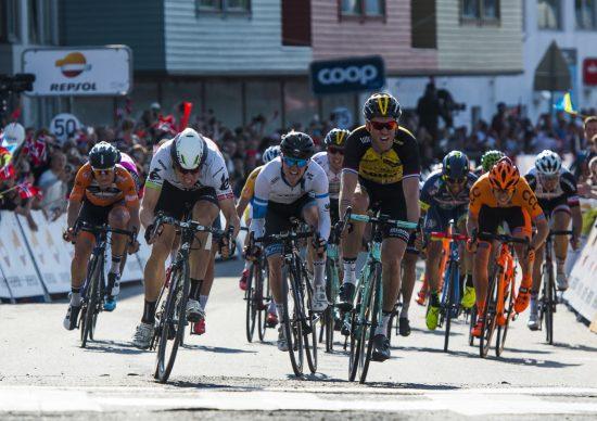 MANGE OM BEINET: Det er ikke enkelt å vinne sykkelritt