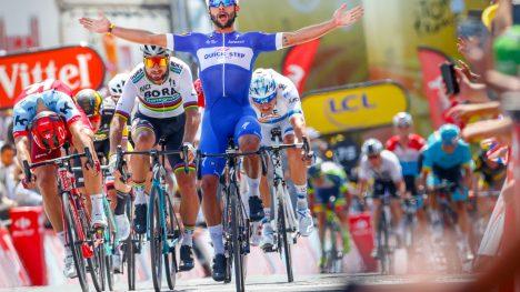 DEN NYE MANNEN: Fernando Gaviria viste at han både var raskere enn Alexander Kristoff og Peter Sagan under årets Tour de France. Nå lover UAE-sjefen fullt opptrekk rundt ham i 2019. FOTO: Tim De Waele/TDWSPORT.COM