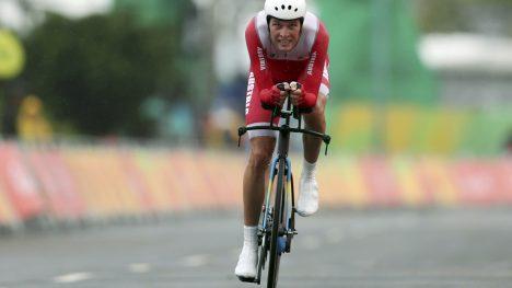 DOPET: Georg Preidler fra Østerrike forteller om bruk av doping. Foto:         REUTERS/Matthew Childs